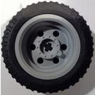LEGO Wheel Rim Ø30 x 20 with No Pinholes, with Reinforced Rim with Tire, Low Profile, Wide Ø43.2 X 22 ZR (56145)