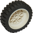 LEGO Wheel Rim 30mm x 12.7mm Stepped with Tire 13 x 24 (2695)