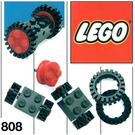 LEGO Wheels and Tyres Set 808