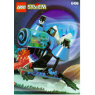 LEGO Whirling Time Warper Set 6496 Instructions