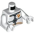 LEGO White Astronaut Minifig Torso (76382)