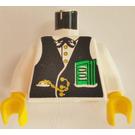 LEGO White Banker Torso