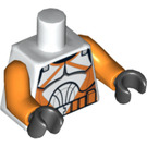 LEGO White Bomb Squad Trooper Torso (76382)