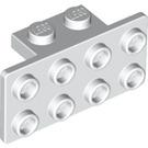 LEGO White Bracket 1 x 2 - 2 x 4 (21731 / 93274)