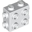 LEGO White Brick 1 x 2 x 1.33 with 8 Knobs (67329)
