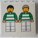 LEGO White Brick 1 x 6 x 5 with Sticker