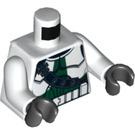 LEGO White Clone Commander Gree Star Wars Torso (76382)