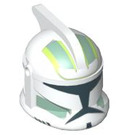 LEGO Clone Trooper with Sand Green Decoration Clone Trooper Helmet with Holes (94089)