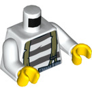 LEGO Crook with Dark Orange Beard Minifig Torso (76382)
