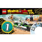 LEGO White Dragon Horse Bike Set 80006 Instructions