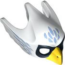 LEGO White Equila Minifigure Raven Head (12852)