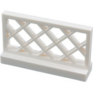 LEGO White Fence Lattice 1 x 4 x 2 (3185)