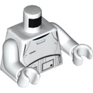 LEGO White First Order Minifig Torso with White Arms and White Hands (76382)