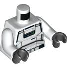 LEGO White Imperial Patrol Trooper Minifig Torso (76382)