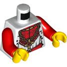 LEGO King Torso with Gold Cross Pendant (76382 / 88585)