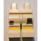 LEGO White Lego Brand Store Male, Rugby Shirt With Black Number '1' Legs