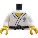 LEGO White Martial Arts Boy Minifig Torso