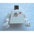 LEGO blanc Minifig Torse