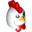 LEGO White Minifigure Chicken Helmet (12553)