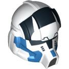 LEGO White Minifigure Figure Helmet (11766)