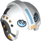 LEGO White Minifigure Helmet (39141)