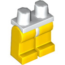 LEGO White Minifigure Hips with Yellow Legs (73200 / 88584)