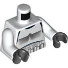 LEGO White Minifigure Torso with Stormtrooper Armor (76382)