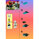 LEGO White Ninja Set 1269 Instructions