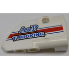 LEGO White Panel 2 Right with 'A&P TRUCKING' Sticker