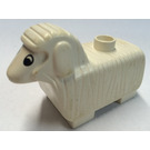 LEGO White Sheep with Short Legs