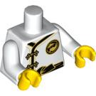 LEGO White Spinjitzu Training Nya Minifig Torso (88585)