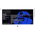 LEGO White Sticker Sheet for Set 10225 (71942)