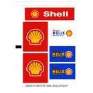 LEGO White Sticker Sheet for Set 1253 (22645)