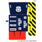 LEGO White Sticker Sheet for Set 60007 (12751)