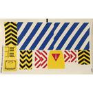 LEGO White Sticker Sheet for Set 70814 (17604 / 17605)