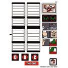 LEGO White Sticker Sheet for Set 76005 (13053)