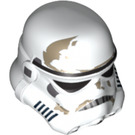 LEGO White Stormtrooper Helmet with Dirt Stains (75010)