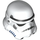 LEGO White Stormtrooper Helmet with Dotted Mouth (84468)