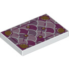 LEGO Tile 2 x 3 with Decoration (49084)