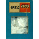 LEGO White Turntables Set 402-2