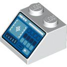 LEGO White Slope 2 x 2 45° (73773)