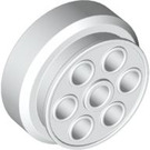LEGO White Wheel Rim 30mm x 12.7mm Stepped (2695)