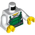 LEGO White Woman Robber Minifig Torso (76382)