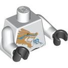 LEGO Zane DX with Dragon Print Torso (76382 / 88585)