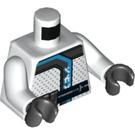 LEGO White Zane Minifig Torso (76382)