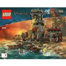 LEGO Whitecap Bay Set 4194 Instructions