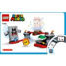 LEGO Whomp's Lava Trouble Set 71364 Instructions