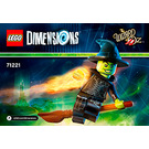 LEGO Wicked Witch Fun Pack Set 71221 Instructions