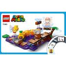 LEGO Wiggler's Poison Swamp Set 71383 Instructions