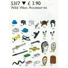 LEGO Wild West Accessories Set 5317